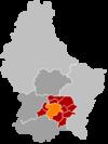 Lucemburk na mapě