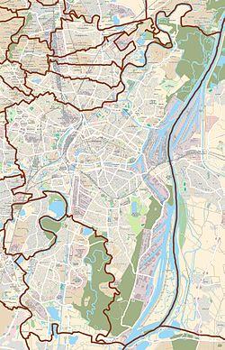 (Voir situation sur carte: Strasbourg)