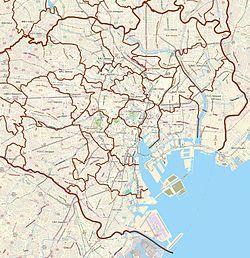 (Voir situation sur carte: Tokyo)