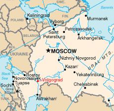 Volgograd – Mappa