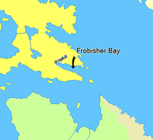 Map indicating Frobisher Bay, Nunavut, Canada.png