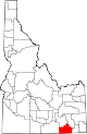 State map highlighting Oneida County