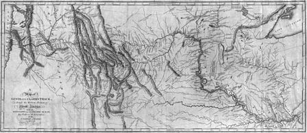 An early map of western North America