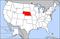 內布拉斯加州在美國的位置