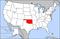 奧克拉荷馬州在美國的位置