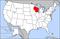 威斯康辛州在美國的位置