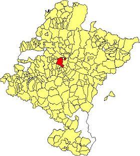 Localisation de Cizur