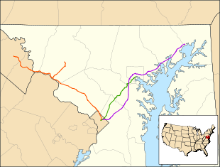 MARC oversees the Brunswick Line (orange), Camden Line (green) and Penn Line (purple).