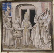 Mariage de Jean V de Bretagne et de Jeanne de France.png
