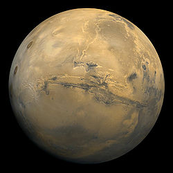 The planet Mars