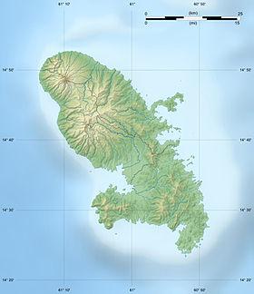 (Voir situation sur carte: Martinique)