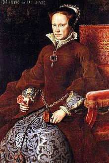 Mary I, by Antonius Mor, 1554