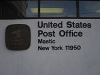 Mastic Post Office sign.JPG