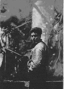 Roberto Matta dans les années 1960.