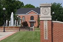 McKendree University entrance