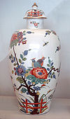 Meissen hard porcelain vase 1735