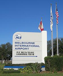 Melbourne International Airport (Florida) Monument Sign 1.jpg