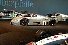 Photo d'une Sauber C11.