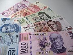 Mexican banknotes as of 2008