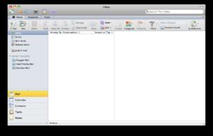 Microsoft Outlook for Mac screenshot