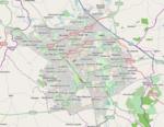 A transport map of Milton Keynes