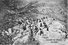 Révolte de la région Mirdita contre les Ottomans, Albanie