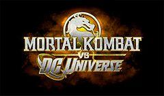 Logo de MK vs DC Universe
