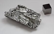 Molybdenum crystal bar