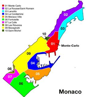 Monte-Carlo est en rouge