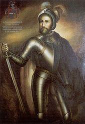 Francisco de Montejo (el Mozo), conquistador de Yucatán y fundador de la ciudad de Mérida.