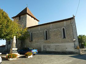 L'église de Montignac-le-Coq