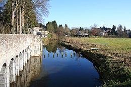 Pont Roman, dit Romain à Montignies-St-Christophe..