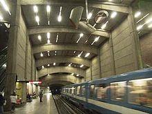 聖昂利廣場站月台