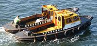 Deux bateaux de lamanage de Rotterdam