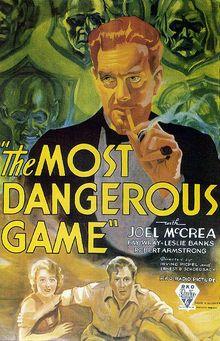 Description de l'image  Most Dangerous Game poster.jpg.