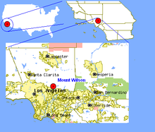 Mount Wilson California Map.PNG