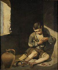 Niño espulgándose, hacia 1650, París, Museo del Louvre.