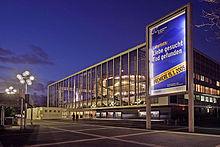 The Musiktheater im Revier (MiR) Opera House of Gelsenkirchen