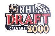 NHL - 2000 Draft Calgary.JPG