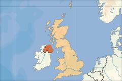 Ubicación de Irlanda del ireland