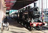 Stoomloc NS 2104 in het Nederlands Spoorwegmuseum