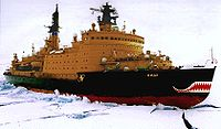 Le brise-glace russe Yamal à propulsion nucléaire