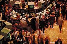 Salle de marchés