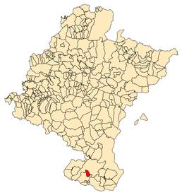 Localisation de Murchante