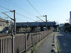 La gare en 2010