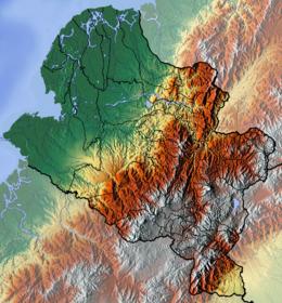 (Voir situation sur carte: Nariño (relief))