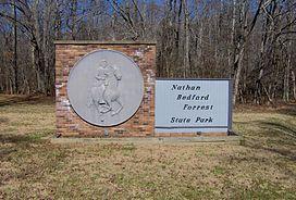 Park entrance sign along TN-191