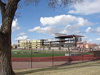 New stadium.