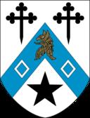 Newnham College heraldic shield