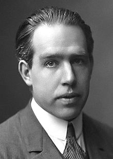 A photo of Niels Bohr